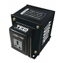 Transformator 230-220v La 110-115v 1000va Reversibil Ted110rev-1000va - ShopTei.ro