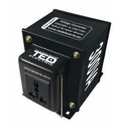 Transformator 230-220V la 110-115V 300VA reversibil TED110REV-300VA - ShopTei.ro