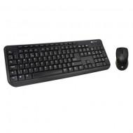 Kit Tastatura + Mouse Optic Serioux SRX-MKM5100, PS/2, Negru