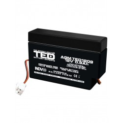 Acumulator Stationar 12v 0,9ah Agm Vrla Ted Electric - ShopTei.ro