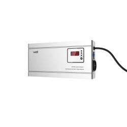 Stabilizator Automat De Tensiune Cu Releu Well 2000va/1200w, Silver Cod Avr-rel-2000va-hsr-wl - ShopTei.ro