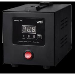 Stabilizator Automat De Tensiune Cu Releu Well 500va/300w Avr-rel-powerup500-wl - ShopTei.ro