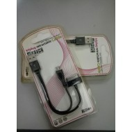 Cablu Transfer Date USB 2.0 la micro USB + 30 Pini iPhone / iPad